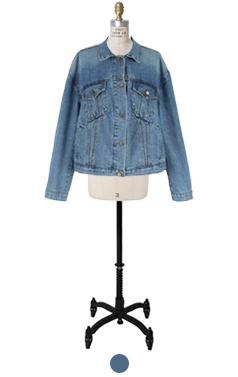 demna loosefit denim jacket