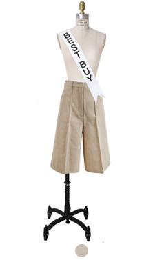 Audrey pintuck 1/2 pants