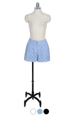 Mina eyelet shorts