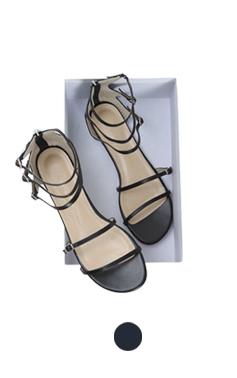 Skinny gladiator sandals