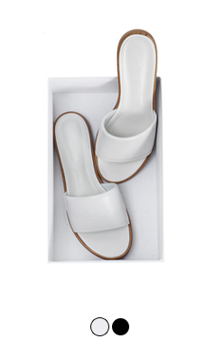 Wellmade basic slipper