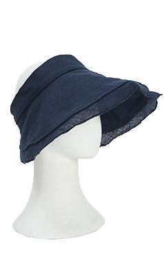 (Encore) elegant linen visor hat