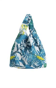 Tripical printed bag