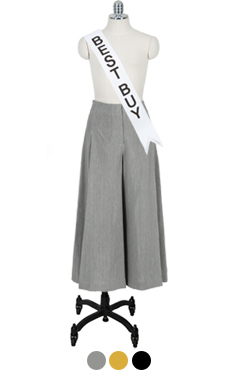 Perfect-fit wide pants