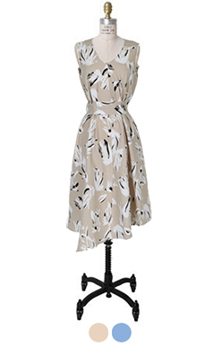 Very elegant printed dress