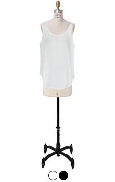 Essential soft sleeveless