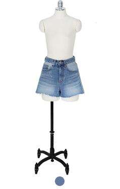 Different denim shorts