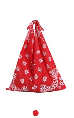 New paisley knot bag