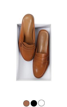 """Elegant loafer mule <br> <font color=#ff9999 size=""""1.9"""" face=verdana>BEST BUY</font>"""