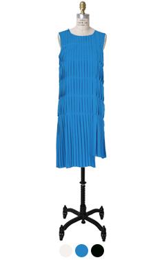 Phillip pleated dress