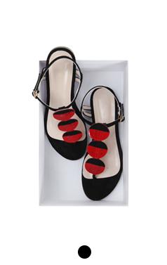 Ladybug flipflop sandals
