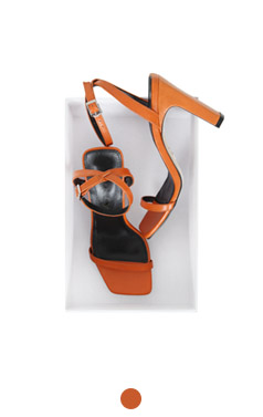 Favorite orange sandals